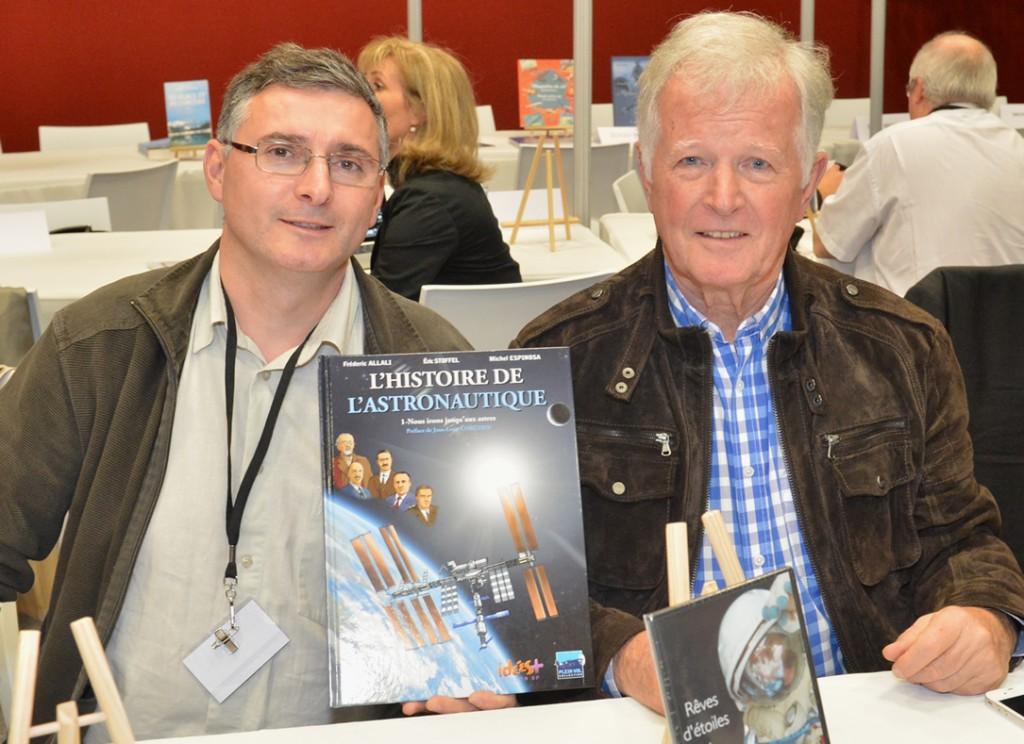 Jean-Loup Chrétien et Franck Coste